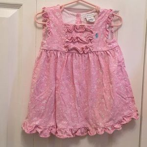 Ralph Lauren Ruffle Pink Dress 18 months